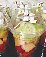 Nutritious Mixed Fruit Cups